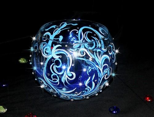 Ваза №2 с кристаллами Swarovski