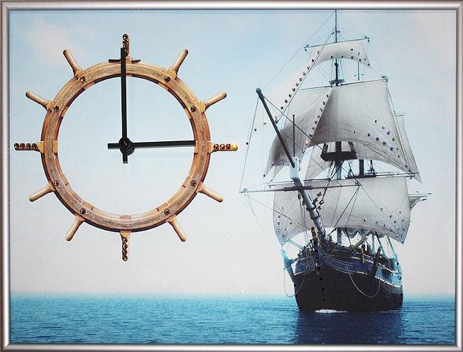Часы с кристаллами сваровски Курс на удачу