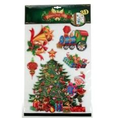 Декоративная наклейка Новогодняя елка