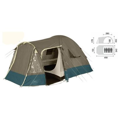 Палатка пятиместная Campus