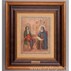 Панно Петр I и Епископ