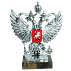 Скульптура Моя Россия (в серебре)
