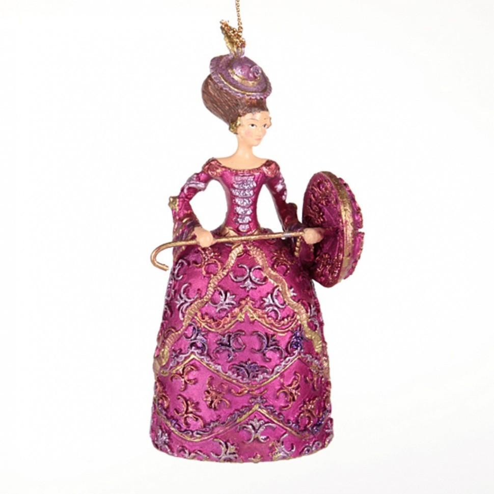 Ёлочная игрушка Принцесса с зонтом