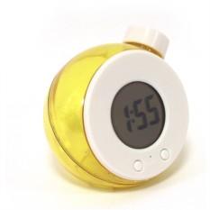 Часы работающие на воде (желтые) малые