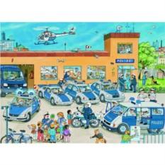 Пазл Полицейский участок XXL, 100 шт., Ravensburger