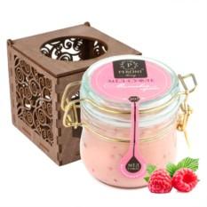 Мёд-суфле в подарочной коробке Малиновый сорбет