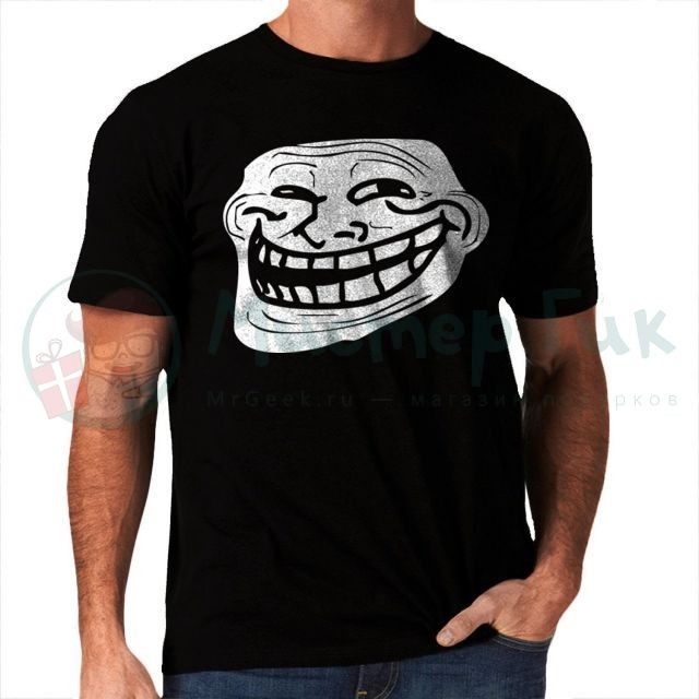 Футболка Trollface (мужская)