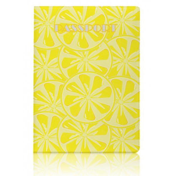 Обложка для паспорта Lemon
