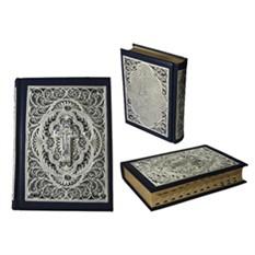 Большая библия с литьем и филигранью