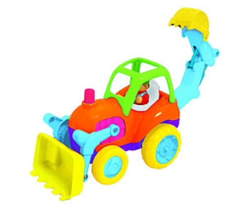 Развивающая игрушка Трактор с ковшом