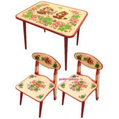 Набор детской мебели Хохлома