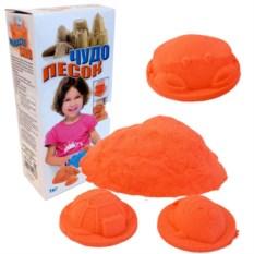 Оранжевый песок для игры «Чудо-песок» , 1 кг.