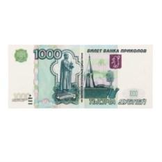 Наклейка 1000 рублей