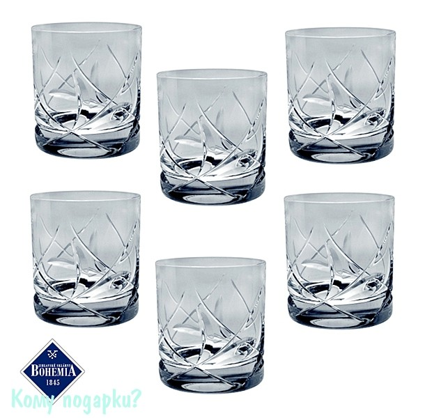 Набор стаканов для виски из 6 шт. «Йорк»