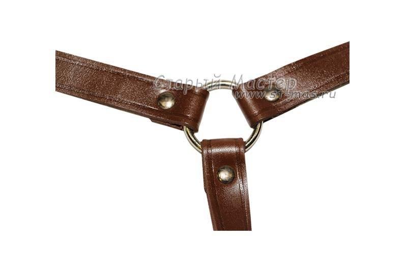 Плечевые лямки, коричневые