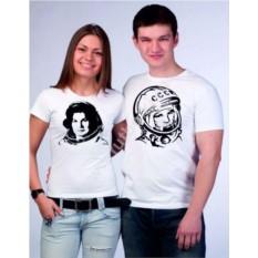 Парные футболки Терешкова и Гагарин