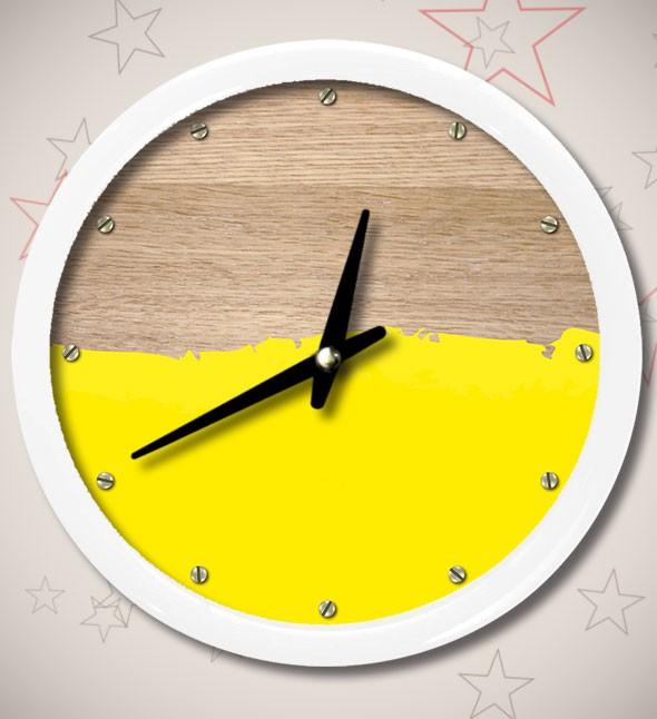 Часы «Умею красить»