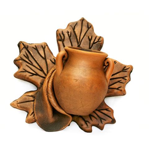 Декоративное панно «Кленовый лист»