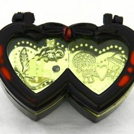 Музыкальная шкатулка Два сердечка