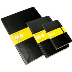 Черная записная книжка в клетку Moleskine Classic Soft