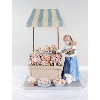 Статуэтка «Цветочный магазин»