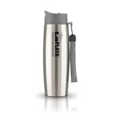 Серебристая термокружка Thermo Mug SS Strap