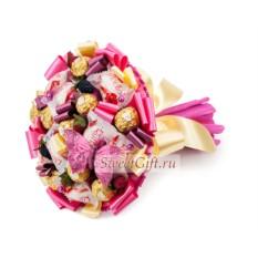 Букет из конфет Все краски лета