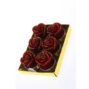Набор свечей «Чайные розы»
