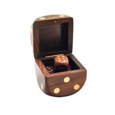 Игральные кости в коробке Визирь