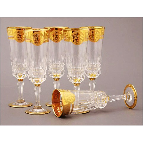 Набор бокалов для шампанского «Императорский»