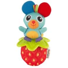 Погремушка-прорезыватель Lamaze Мышка и клубника