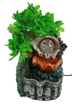 Фонтан декоративный Бонсай с подстветкой