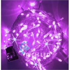 Гирлянда Нить фиолетового цвета