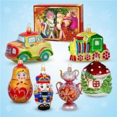 Эксклюзивный набор ёлочных игрушек