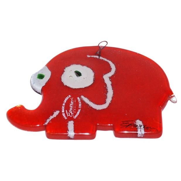 Сувенир из стекла «Слон»