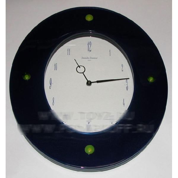 Стеклянные настенные часы