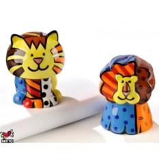 Набор для соли и перца из коллекции Lion&Tiger от Britto