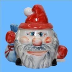Сахарница Дед Мороз