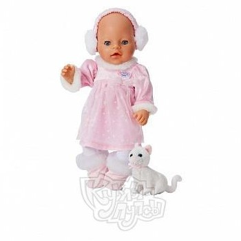 Набор одежды для куклы Baby born Зимняя сказка