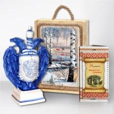 Подарочный набор «Сибирь. Герб» (кольбат)