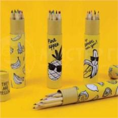 Набор карандашей Желтые фрукты