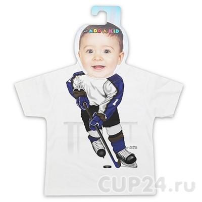 Детская футболка Хоккеист