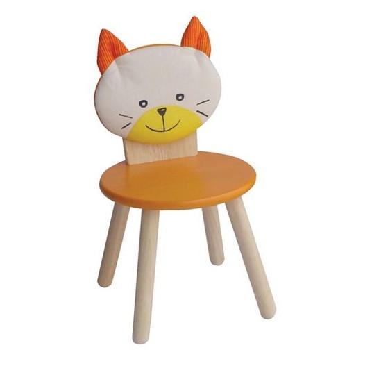 Стул для вечеринки Оранжевый котёнок