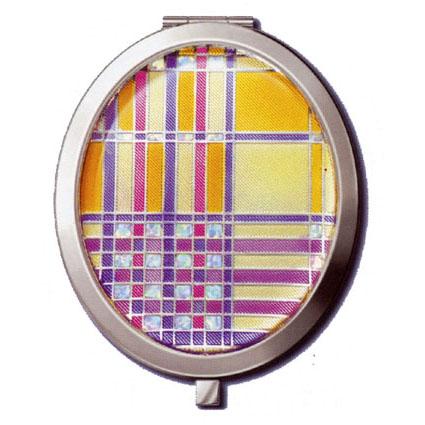 Зеркало «Полоски и клетки»
