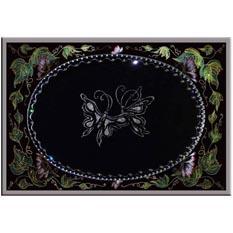 Зеркало с бабочками