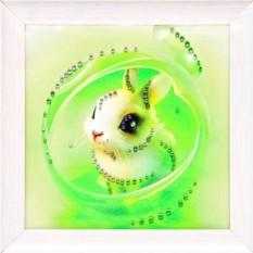 Картина с кристаллами Swarovski Зая моя