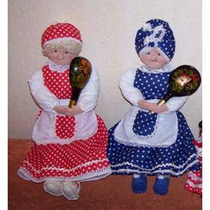 Кукла с ложкой