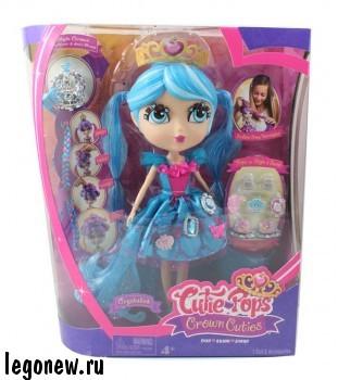 Набор Кьюти Попс - Принцессы. Кукла Кристалина