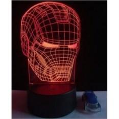 Настольная 3D-лампа Железный человек