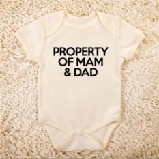 Детское боди Property